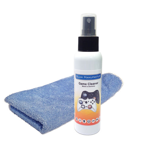 100ml Game Cleaner + Mikrofasertuch 40x40 cm